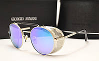 Солнцезащитные очки Emporio Armani a 056 голубая линза