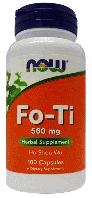 Горец многоцветковый, Now Foods, Fo-Ti, (560mg), 100 caps