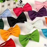 Бабочки полиэстровые, однотонные для маленьких модников и модниц