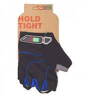 Перчатки Green Cycle NC-2311-2014 MTB Gel без пальцев S черно-синий