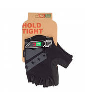 Перчатки Green Cycle NC-2312-2014 MTB Gel без пальцев M черно-серый