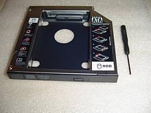 Карманы Caddy Optibay для HDD вместо DVD в ноутбуке