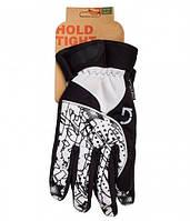 Перчатки Green Cycle NC-2409-2014 Winter с закрытыми пальцами S черно-белые
