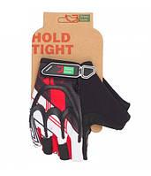 Перчатки Green Cycle NC-2501-2015 MTB Gel без пальцев S черно-красные