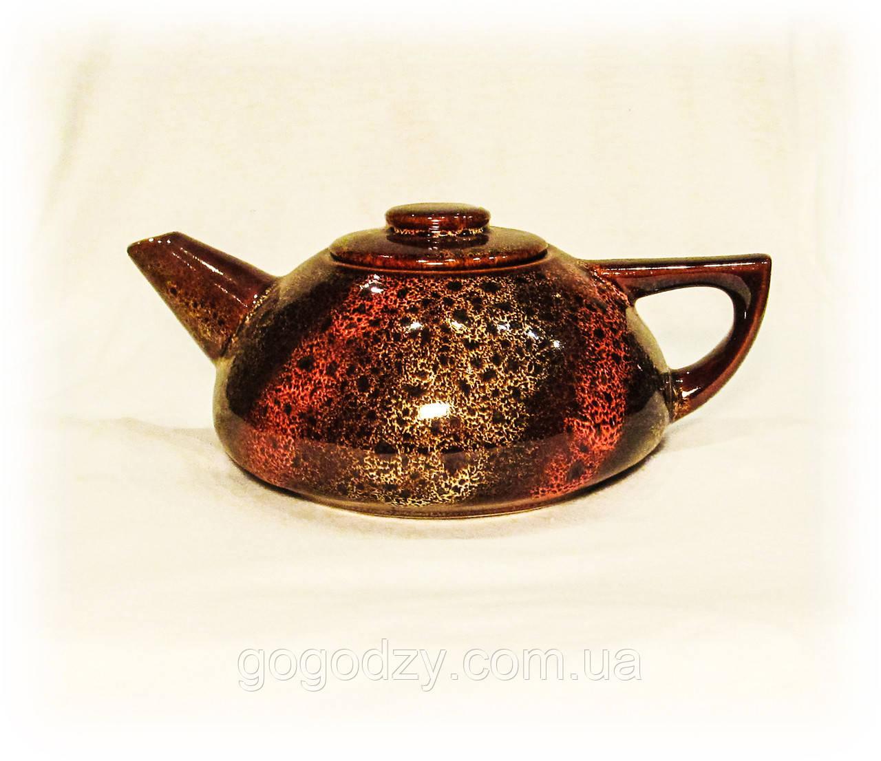 """Чайник великий, декор """"дзиґа"""""""