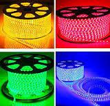 Светодиодная лента (led) SMD 3528 60 led/m IP68 220В Цветная