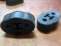 Задняя подушка глушителя Ланос T-1203049 / подушка заднего глушителя 96181437 2шт на LANOS. Завіса глушника, фото 1