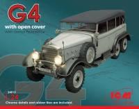 Сборная модель автомобиля Mercedes G 4 1\24  ICM