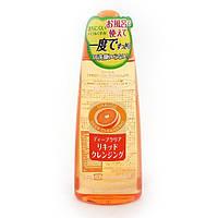 Гидрофильное очищающее масло  KANEBO KRACIE NAIVE Deep Clear cleansing Liquid (Orange)