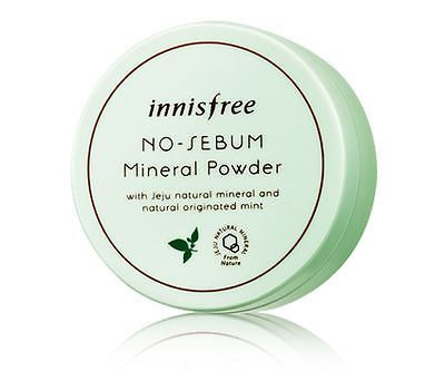 Минеральная матирующая пудра Innisfree No-Sebum Mineral Powder,5г