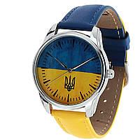 Наручные часы «Жовто-блакитний» сине-желтый, фото 1