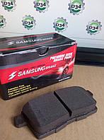 Колодки тормозные задн MAZDA CX-7/9 Samsung brake SMB24545