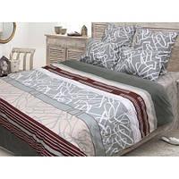 Стильный комплект постельного белья «Леон» ТЕП бязь (100% хлопок) недорого.