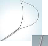 Одноразовая петля для полипэктомии (ассиметричная)