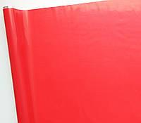 """Пленка тонированная """"Сплошная"""" красная 60 см 200 гр"""