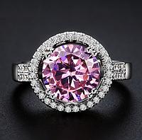 """Кольцо Swarovski """"Розовый кварц"""", фото 1"""