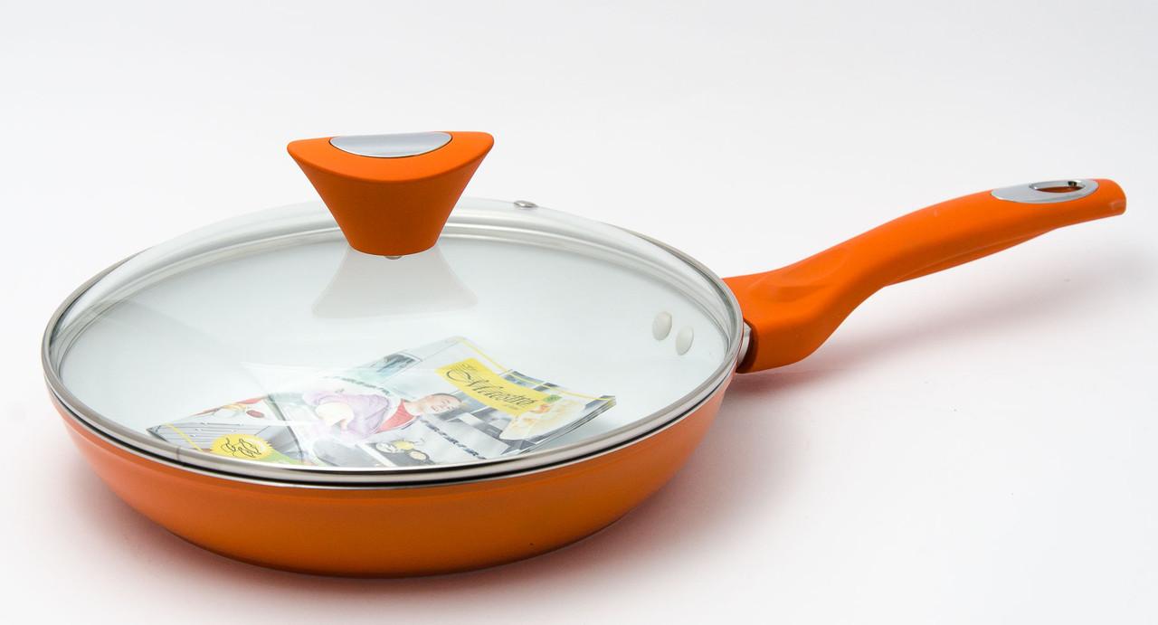 Сковорода керамика Maestro MR-1209-22 см