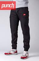 Штаны мужские карго с карманами Punch - Cargo Rush, Black