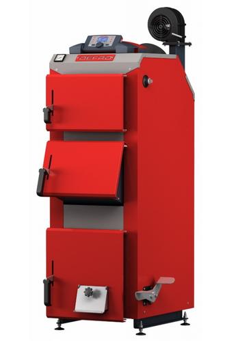 Универсальные котлы на твердом топливе длительного горения Defro Optima Komfort Plus 30
