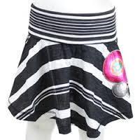 Низ лето юбка клеш ,черная в белую полоску,широкий пояс, сбоку яркие круги дев. Negro 100 % хлопок 40F3055 Des