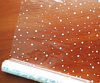 Пленка прозрачная Снег3 400 гр 60см белая