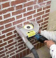Пробивка проёма в кирпичных стенах (толщ. свыше 1 кирп.)
