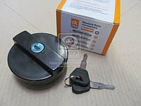 Крышка бака топлива ВАЗ старого образца пластмассовый с ключом  2101-1103010
