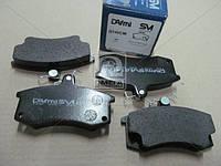 Колодки тормозныедисковые ЛАДА ВАЗ-2110 (производитель Dafmi) D140SM