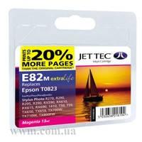 Картридж струйный JetTec для Epson Stylus Photo R270/T50/TX650 аналог C13T08234A10/C13T11234A10 Magenta