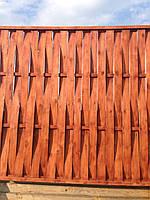 Заборные секции ПЛЕТЕНКА вертикальная