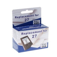 Картридж струйный MicroJet для HP DJ 3700/3800/3900 аналог HP 27 Black (HC-E01)