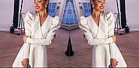 Пальто женское кашемировое на подкладке P1076