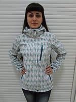 Женская демисезонная куртка Azimut (8169-41) белая код 733А