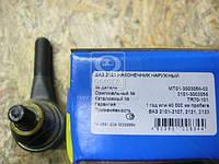 Наконечник тяги рулевой ВАЗ 2101 наружная (TR70-101) (производитель Трек) 2101-3003056