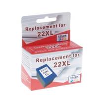 Картридж струйный MicroJet для HP DJ 3920/F4200/F5200 аналог HP 22XL Color (HC-E02X) повышенной емкости
