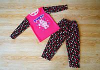 "Натуральная пижама для мальчика ""Стильная малышка"" 110-116рр"