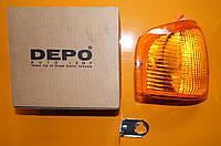 Фонарь указателя поворота правый DEPO 431-1522R-UE-Y Ford orion escort 1985-1990