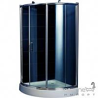 Душевые кабины, двери и шторки для ванн Appollo Душевая кабинка с поддоном Appollo TS-0515 III R профиль хром/стекло серое