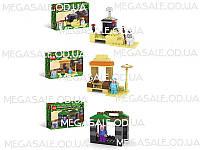 Конструктор Майнкрафт (Minecraft) 3 вида: 51 деталь, строение + фигурка