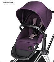 Детская универсальная коляска 2 в 1 Cybex Priam Platinum Light 2016/2017 Princess pink