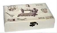 Красивая шкатулка для рукоделия в стиле Прованс