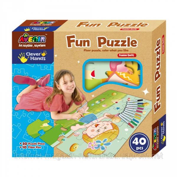 Веселые пазлы ТМ Bino Avenir Clever Hands Fun Puzzle