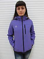 Женская демисезонная куртка Azimut (8087) фиолетовая код 745А