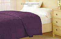Одеяло -покрывало Charter Club фиолетовое 229х234см