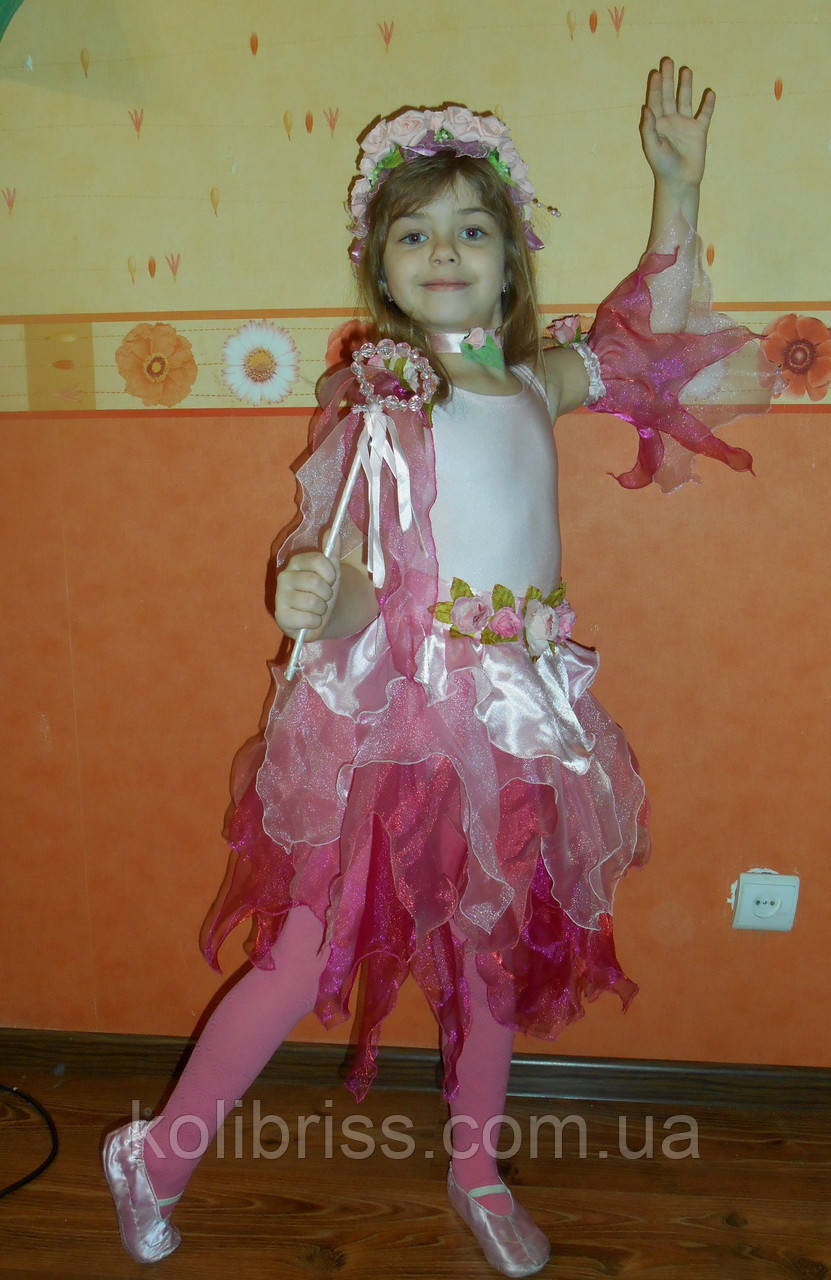 Красивый костюм весна, флора, веснянка прокат Киев