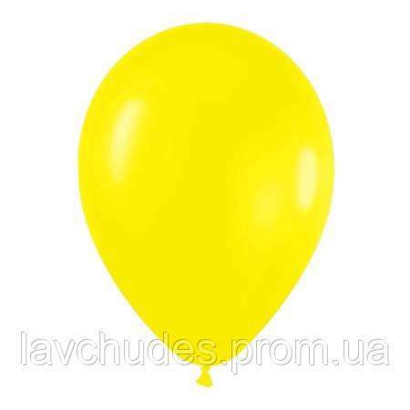 Воздушные шары. Без рисунка. Желтый.