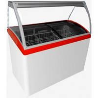 Витрина для мороженого M300SL  (холодильная, напольная) Juka