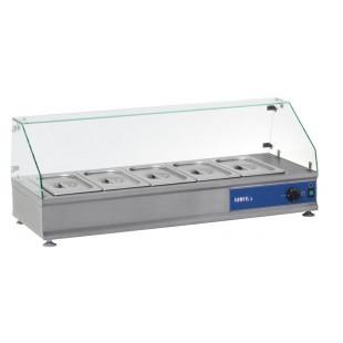 Витрина тепловая настольная (стекло прямое)  ВТН-5-1055 КИЙ-В