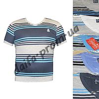 Мужская котоновая футболка A56k  (в уп. до 5 расцветок) оптом со склада в Одессе
