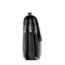 Эксклюзивная кожаная сумка-планшетка TOFIONNO, фото 3
